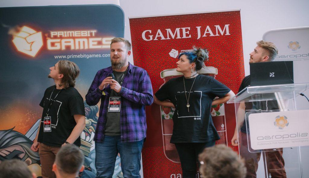 fot. Game Jam Rzeszów 2019, autor – mgr M. Kisał