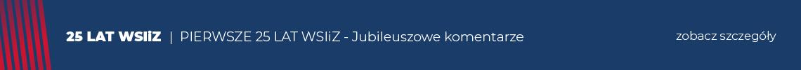 Jubileusz 25-lecia WSIiZ